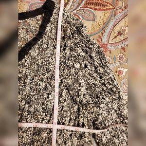 Simply Vera Vera Wang Sweaters - Vera Wang Crocheted Cropped Cardigan